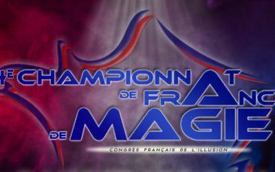 Palmarès Championnat de France de Magie FFAP 2021